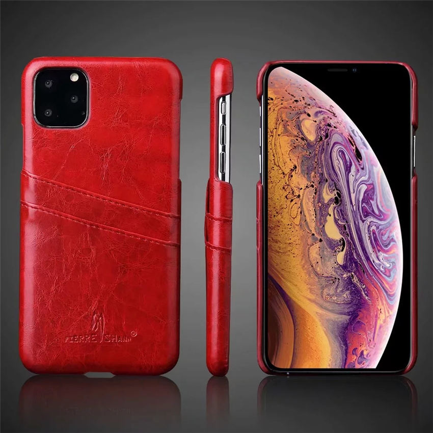 <font><b>Genuine</b></font> Real <font><b>Leather</b></font> For <font><b>iPhone</b></font> 11 Pro Max <font><b>Case</b></font> XS XR Retro Vintage Back Cover For <font><b>iPhone</b></font> X <font><b>Case</b></font> 7 8 6 6s Plus <font><b>5s</b></font> SE Bag <font><b>Cases</b></font> image