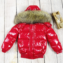 Winter Coat Down-Jacket Parka Girls Children Snowsuit White-Duck-Down Toddler Kids Casacos-De-Inverno