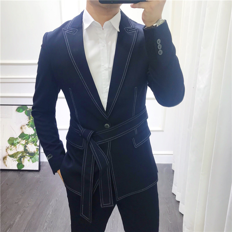British Style Vintage Tuxedo Jacket Men Wedding Suit Check Suits Men Business Suit Slim Fit 2-piece Set Costume Homme Sur Mesure