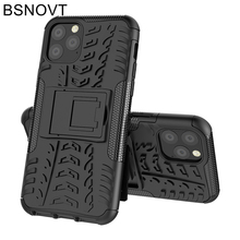 For Cover iPhone 11 Case Hard Armor Phone Holder Anti-knock Pro Max BSNOVT