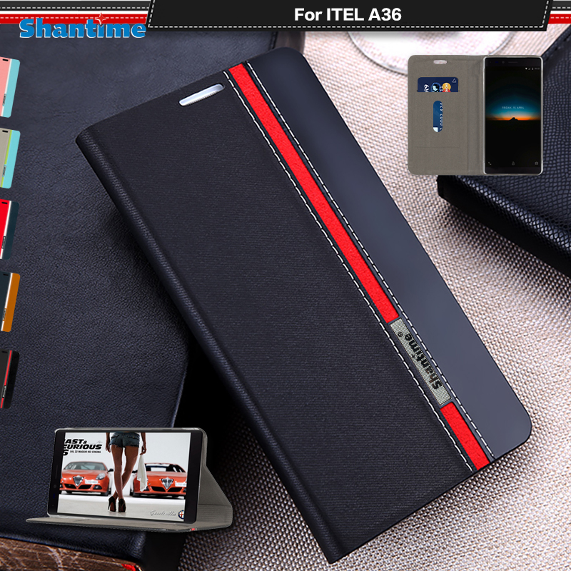 Luxury PU Leather Case For ITEL A36 Flip Case For ITEL A36 Phone Case Soft  TPU Silicone Back Cover|Wallet Cases| - AliExpress