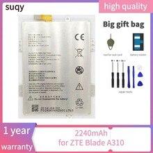 Suqy bateria recarregável para zte lâmina a310 baterias de reparação fazer telefone bateria para zte a310 batterie ferramentas