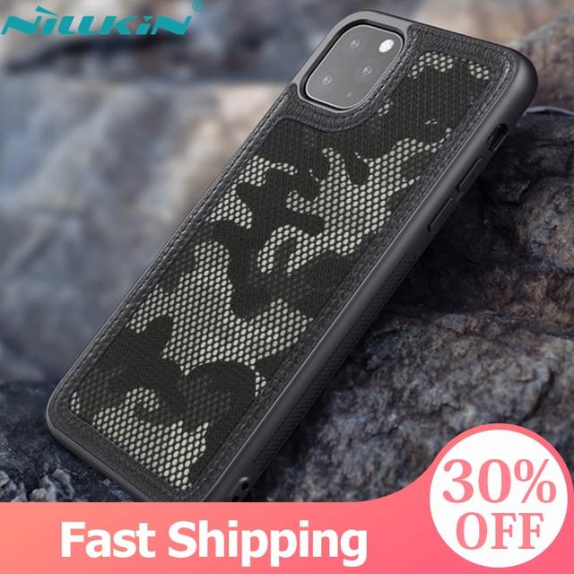 สำหรับApple iPhone 11 Pro 2019กรณี,NILLKINทหารCamouflage ProtectorกรณีShell Anti Knock ToughสำหรับiPhone 11