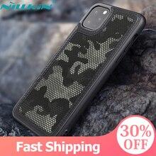 Para apple iphone 11 pro 2019 caso, nillkin militar camuflagem protetor caso escudo anti knock resistente capa traseira para iphone 11