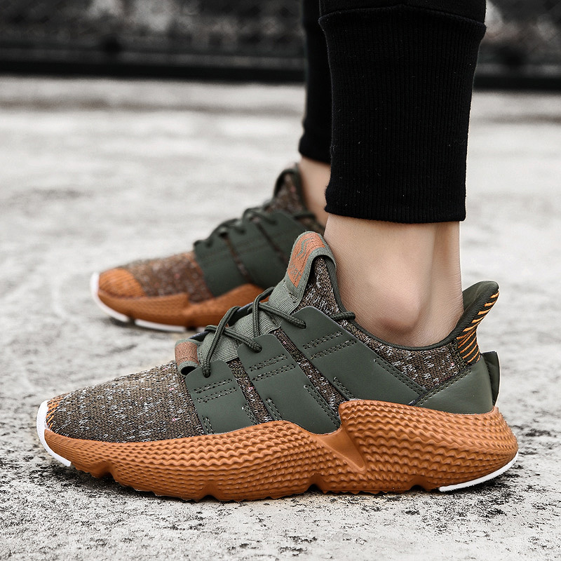 <font><b>2019</b></font> LettBAO New <font><b>Fashion</b></font> <font><b>Trend</b></font> <font><b>Men</b></font> Lace-up Casual Shoes Breathable Autumn Summer Mesh Male <font><b>Sneaker</b></font> Lightweight Adults Mens Shoes image