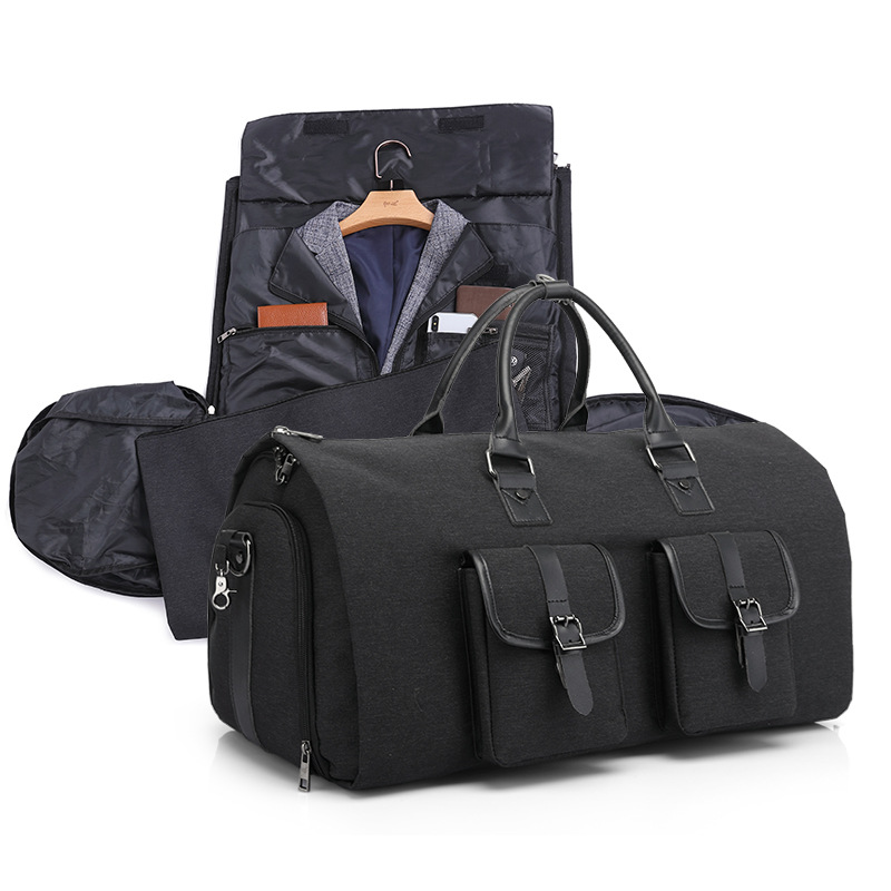 Brand Multifunctional Men Duffle Bag Large Capcacity Hand Luggage Bags Waterproof Travel Suit Storage Bag With Shoes Pouch