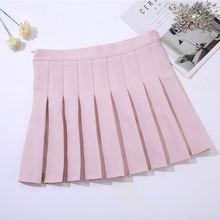 Летнее клетчатое платье в стиле «Женская юбка 2020 защитные