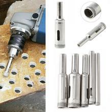 5 sztuk zestaw 5-12mm diamentowe wiertło do szkła marmuru ceramicznych płytek Hole Cutter zestaw części do obróbki drewna wiercenie metali Bit Hot sprzedaż tanie tanio Liplasting Maszyny do obróbki drewna GlassDrill Bit CN (pochodzenie) Inne