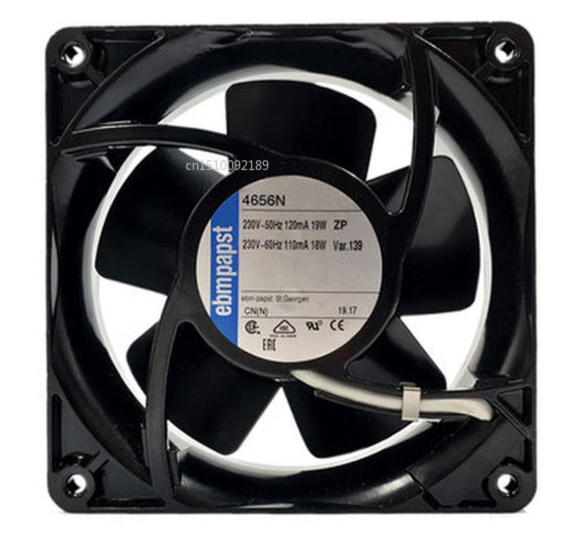 Original For Ebmpapst 4656N AC220V12038 120 * 120 * 38MM Water Temperature Axial Fan4W 80 * 80 * 25 Mm PUDC24Z4 Inverter Fan