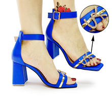 Pumps High-Heeled sandals Evening-Party Wedding Silver Women Summer Fashion for Girl