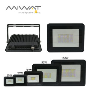 Ultra-thin10W 20W 30W 50W 100W LED Flood Light Spotlight Led Search Lamp 110V/220V Floodlights for Outdoor Garden Street Square(China)