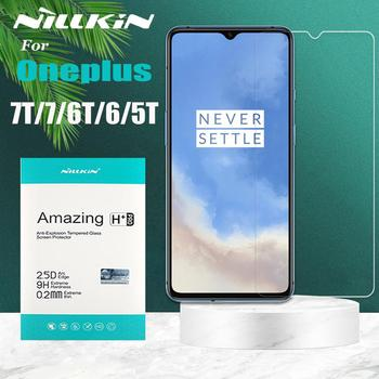 Nillkin Glass on Oneplus 7T 7 6T 6 5T Glass Screen Protector 9H Clear Safety Protective