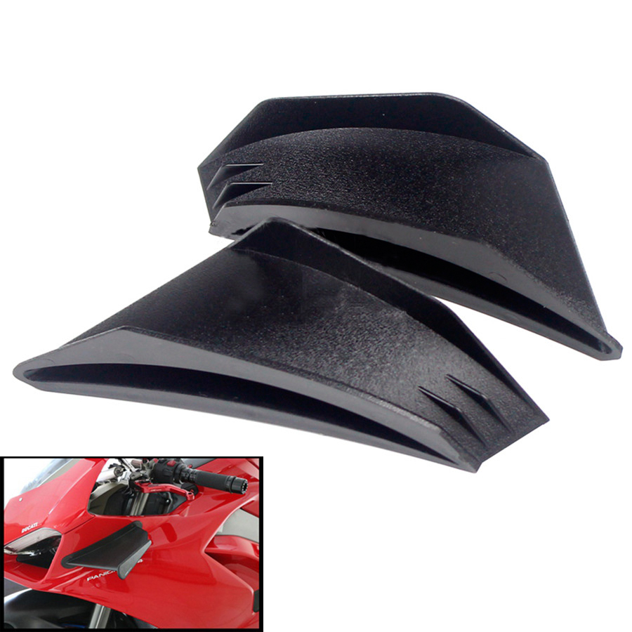 Motorcycle Winglet Aerodynamic Wing Kit Spoiler For KAWASAKI Ninja H2 H2R Yamaha BWS RS JOG JOE GP