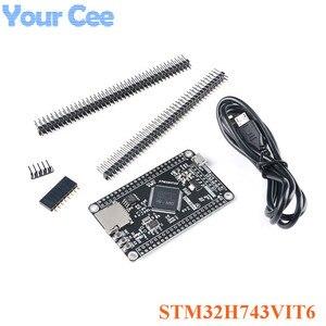 Image 2 - STM32H750VBT6 STM32H743VIT6 STM32H7 Development Board STM32 System Board M7 Core Board Tft Interface Met Usb Kabel