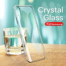 Voor Samsung A50 A70 A80 A40 A5 A7 2017 A5 A7 A8 A9 2018 S7 Rand S8 S9 S10 Plus s10E J5 J7 2017 Note 8 9 Case Transparant Clear(China)