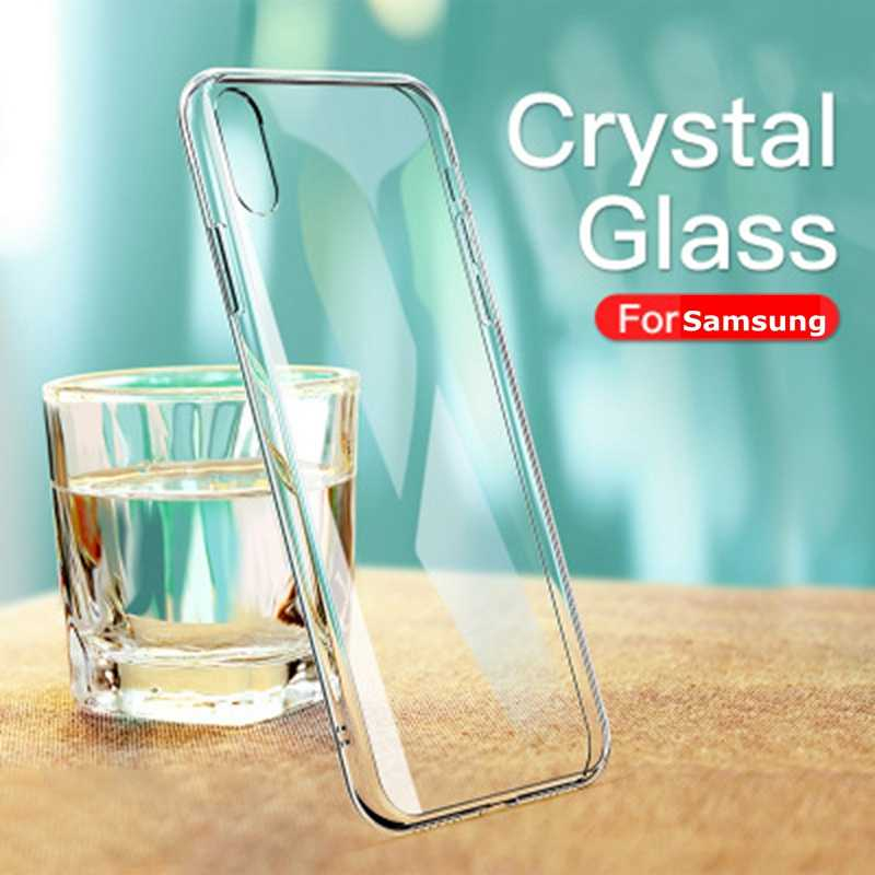 Voor Samsung A50 A70 A80 A40 A5 A7 2017 A5 A7 A8 A9 2018 S7 Rand S8 S9 S10 Plus s10E J5 J7 2017 Note 8 9 Case Transparant Clear