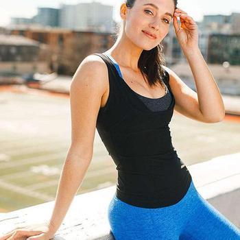 Men Neoprene Sweat Sauna Vest Body Shapers Vest Waist Trainer Slimming Vest Shapewear Waist Shaper Corset for women 5