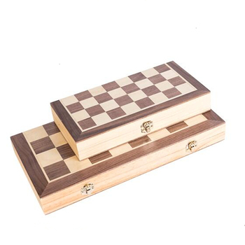 Chess Board High-end Puzzle  Chess Set Chess Pieces Are Magnetic Wooden Checker Board Solid Wood Pieces Folding Chess Game yernea chess set for high quality chess game pieces chess magnetic board folding plate large gold silver