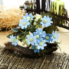 16 Heads European Cherry Blossom Cosmos Artificial Flower for Christmas Bouquet Home Party Spring Wedding Decoration