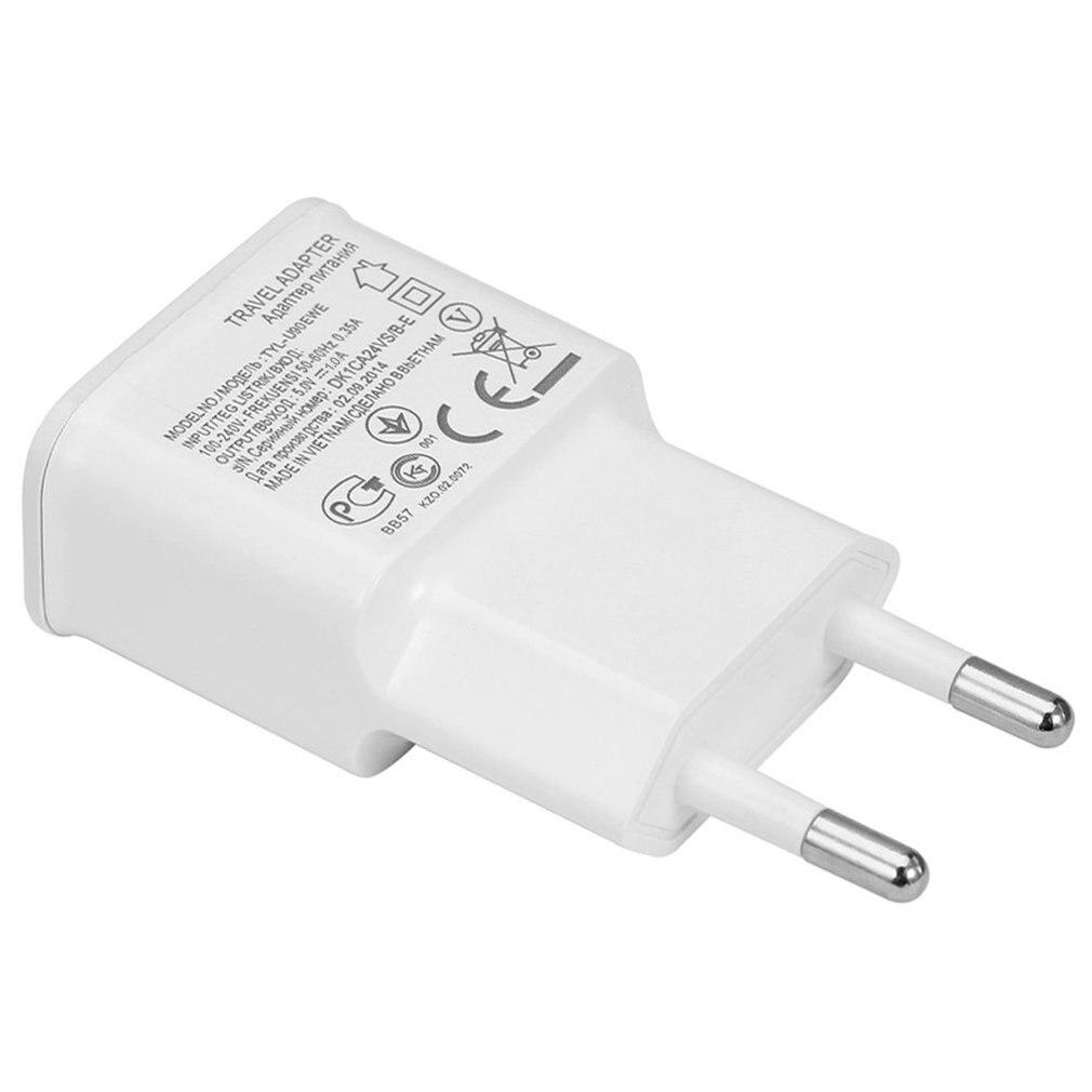 Настенное зарядное устройство USB, адаптер для телефона с европейской вилкой, USB-кабель для быстрой зарядки для Samsung Galaxy серии S4 i9500, для мобиль...