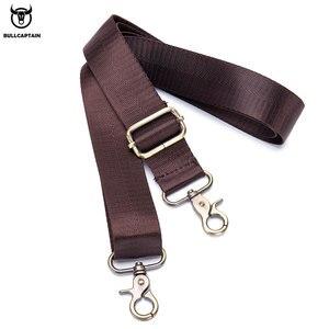 Image 5 - BULLCAPTAIN new fashion cowhide mens business briefcase / leather retro mens crossbody bag / casual business bag / handb