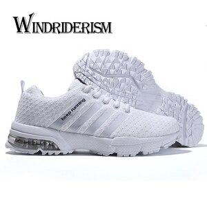 Image 1 - סניקרס לגברים חיצוני נוח אימון ספורט נעלי באיכות גבוהה אור יוניסקס זוג אוהבי מגמת נעלי ריצת 35 47