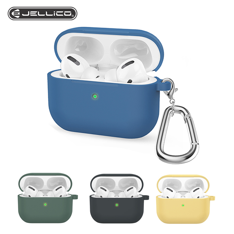 Jellico Silicone Pattern Case For Airpods Pro Case Wireless Bluetooth For Apple Airpods Pro Case Earphone Cover For Air Pods
