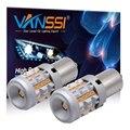 2 шт. 7507 Bau15s PY21W светодиодный светильник Canbus с поворотным сигналом Желтый Янтарный встроенный резистор анти-гипер мигающая лампа Erorr Универс...