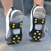 Shoe-Cover Ice-Crampon Walking-Shoes Snow-Slip Outdoor 10 Studs Spike-Grips Universal