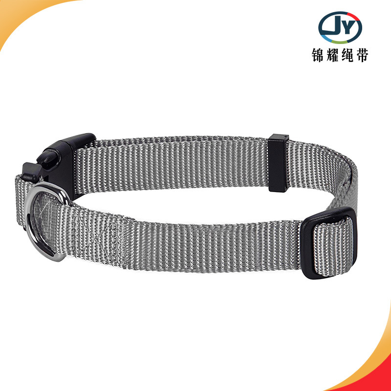 Pet Dog Nylon Collar Hot Sales Middle And Large For Dogs Traction Wear-Resistant Neck Ring