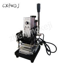 WTJ-90A PVC Card Invitation Card Hot Stamping Machine Membership Card Hot Stamping Machine LOGO Hot Stamping Machine цена и фото