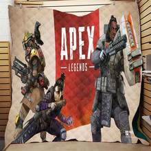 Apex legends Printed Home Sofa Cover Quilt Comforte Queen King Size Kids Adult Blanket For Beds Soft Sofa Outdoor Camping Quilt(China)