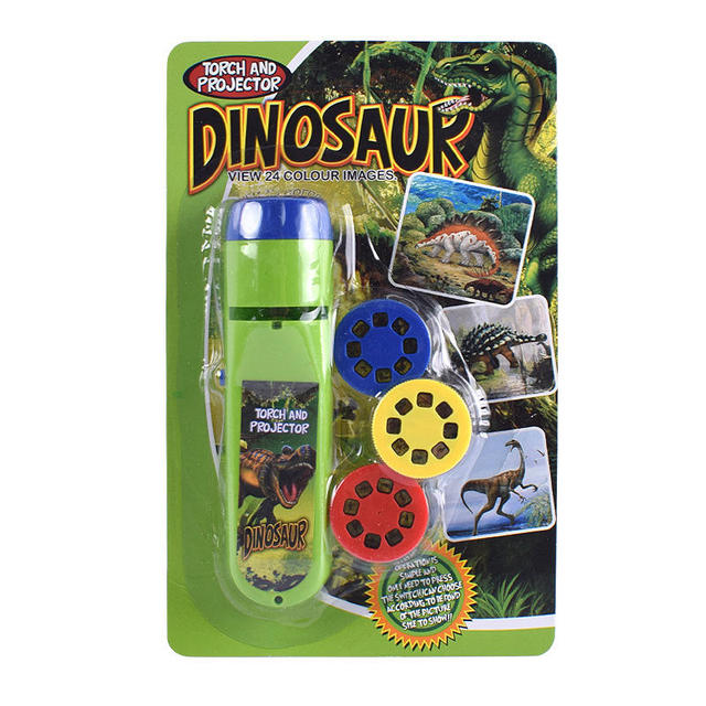 Balleenshiny Parent-child Interaction Puzzle Early Education Luminous Toy Animal Dinosaur Child Slide Projector Lamp Kids Toys 6