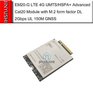 Image 3 - العلامة التجارية الجديدة لا وهمية! EM20 EM20 G LTE 4G المتقدمة Cat20 وحدة EM20GRA 512 SGAS مع M.2 شكل عامل DL 2Gbps UL 150M GNSS