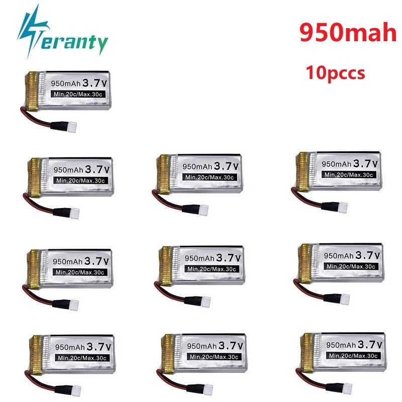 3.7v 950 3600mah の充電式バッテリー Syma X5 X5c X5c-1 X5s X5sw X5sc V931 H5c RC ドローンスペアパーツ 3.7v リポバッテリー 1 個-10 個