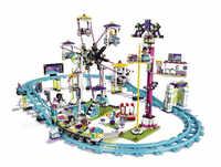 01008 1024 Uds bloques compatibles Legoinglys Amigos Parque de Atracciones Roller posavasos de figura modelo juguetes de construcción para niños