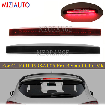 For CLIO II 1998-2005 For Renault Clio Mk III Red/Black LED 3rd Third Brake Light Tail Stop Lamp Rear turn signal Bumper Lights цена 2017
