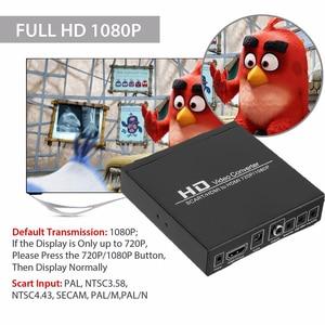 Image 5 - フルhd 1080pデジタルコンバータ高精細ビデオコンバータscart hdmi対応eu/米国の電源プラグハイビジョンhd用