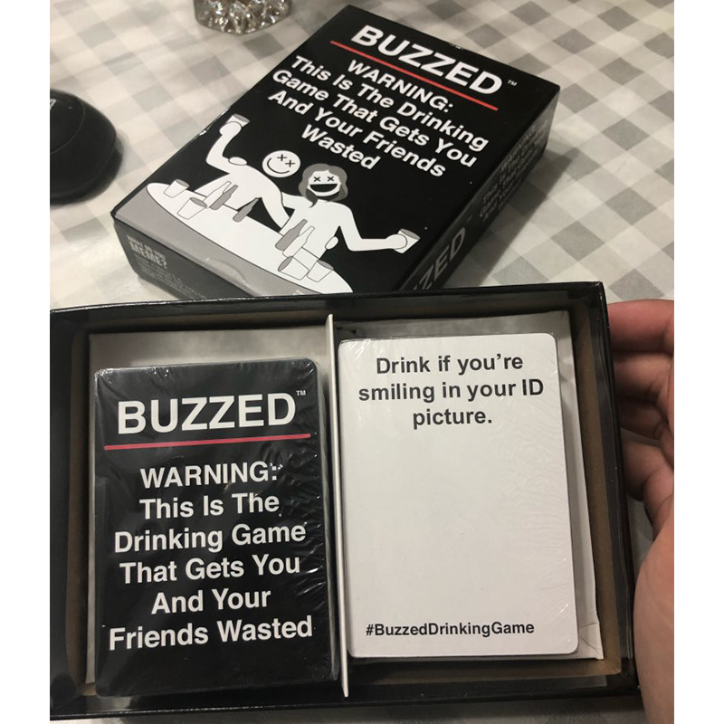 buzzed drinking game online