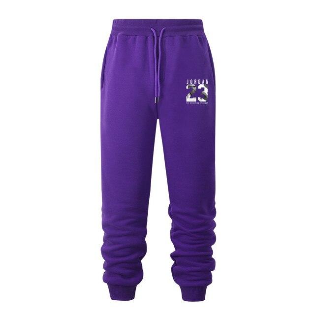Black White Purple New Running Jogging
