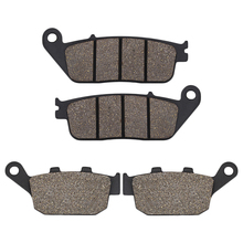 Motorcycle Front Rear brake pads for Honda FMX650 05-08 XL600 XL600V Transalp 600 94-96 NC700X NC 700X 12-14 CTX700 CTX700N 2014