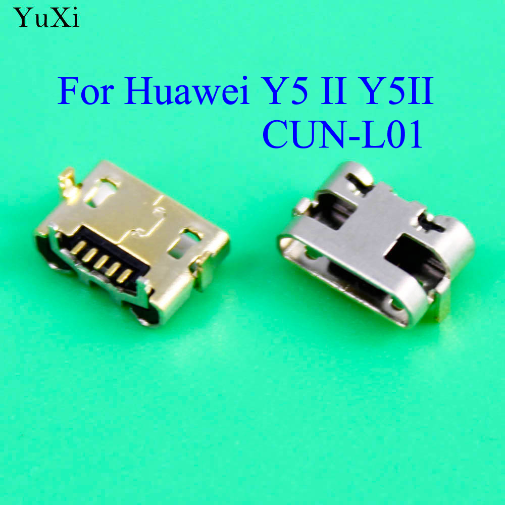 YuXi For Huawei Y5 II Y5II CUN-L01 Micro USB Jack Charging Port Charger Connector Socket Power Plug Dock Replacement Repair
