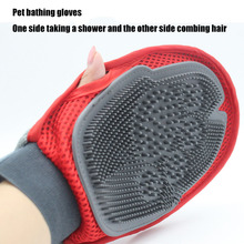 Pet Grooming Glove For Cats Brush Comb Deshedding Hair Gloves Dogs Bath Massage Cat cleaning Supplies Dog Animal Combs Efficient dog glove pet cat hair remover brush suede anti bite cleaning massage pet grooming glove puppy cats dogs hair deshedding combs