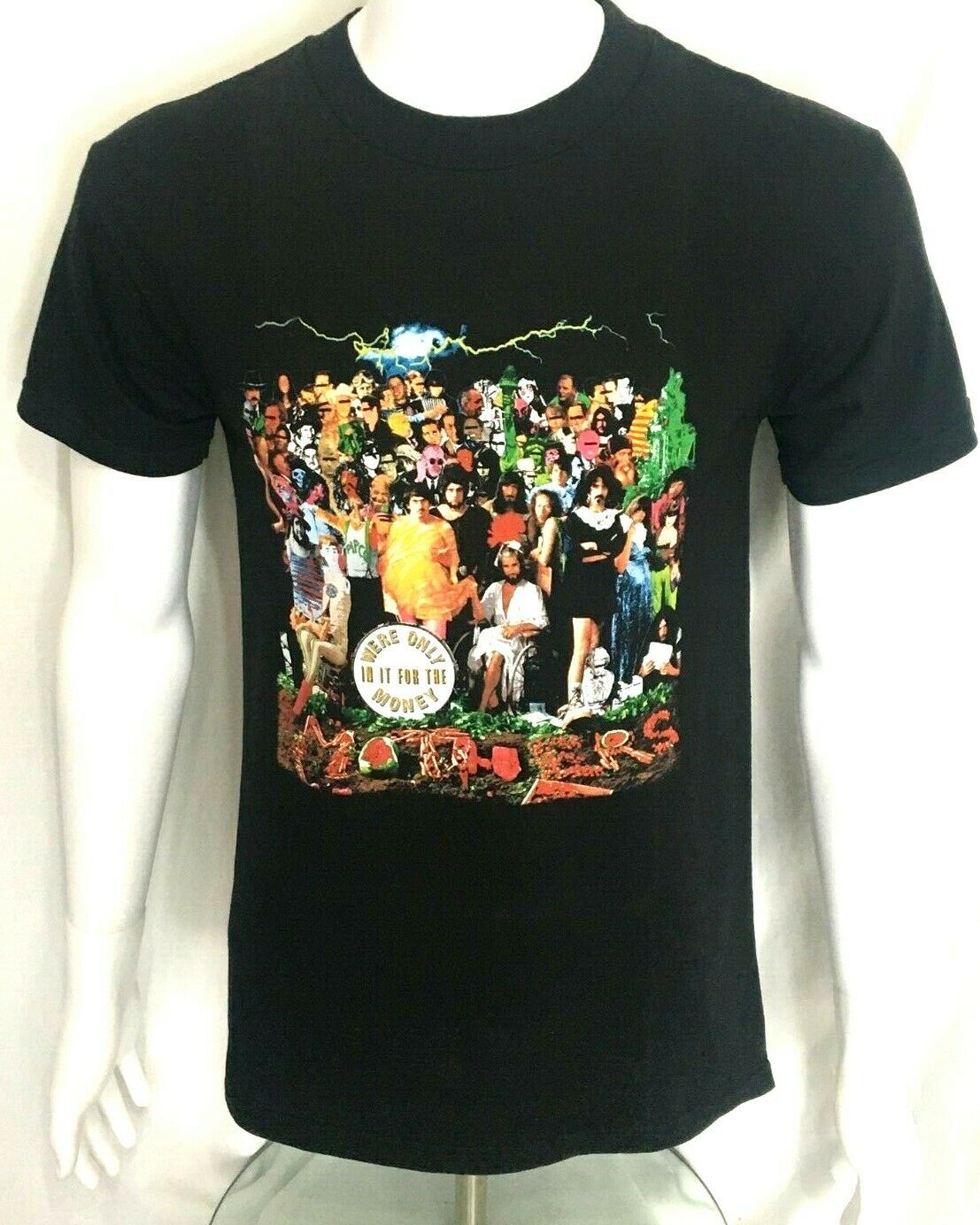 Frank Zappa T Shirt Apostrophe Charcoal Retro Print 100/% Official US Import