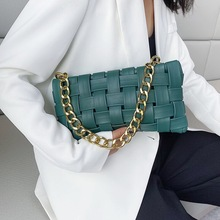 Mododiino Baguette Shape Bag Women Bags Chains Shoulder