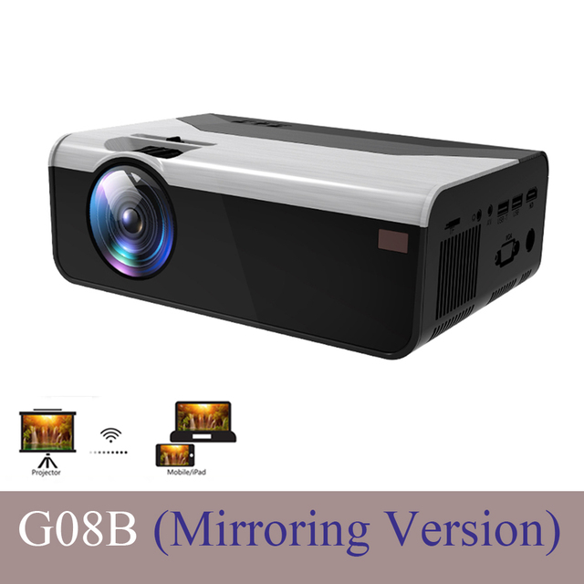 CRENOVA G08B Projector 854x480 3D Mirroring
