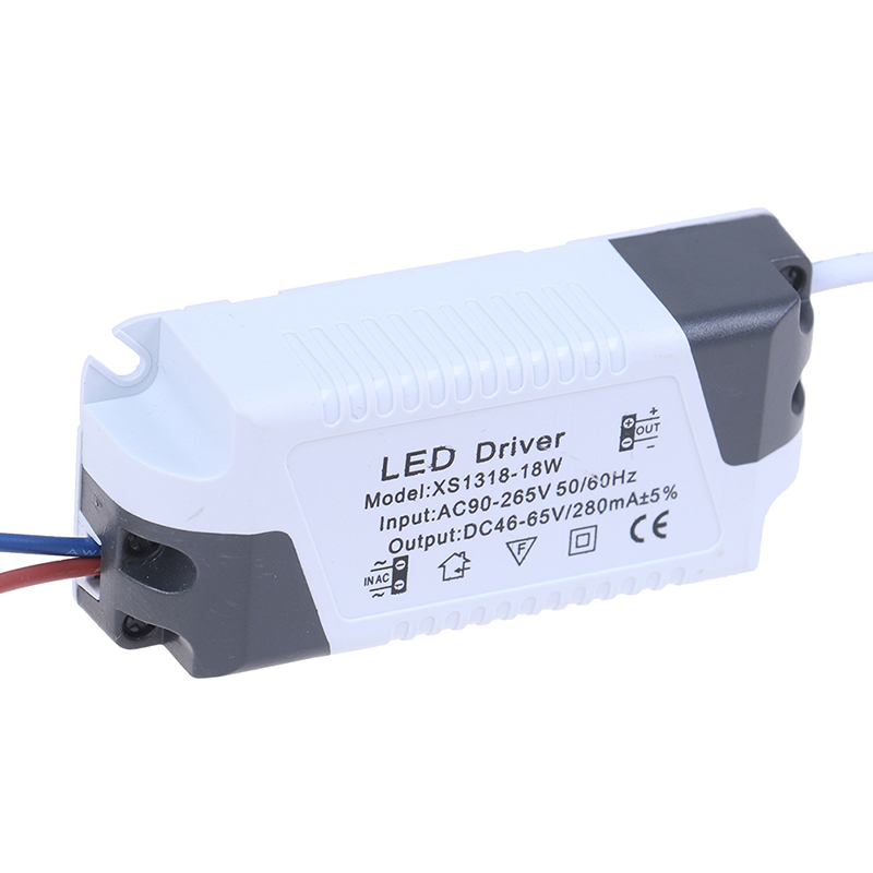 3W-36W 165-265V Plastic Shell Constant Current 300mA LED Lamp Driver Power Supply Adapter