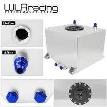 WLR RACING-30L алюминиевый топливный расширительный бак, зеркальный полированный топливных элементов с пеной внутри, без датчика WLR-TK67