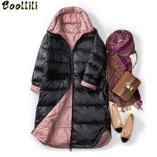 Boollili Down Coat Winter Coat Women Puffer Jacket Korean Wh