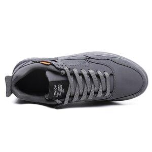 Image 5 - Zapatillas de correr para hombre ligeras y transpirables, cómodas e informales, antideslizantes, resistentes al desgaste, con aumento de altura de 3CM, gran oferta